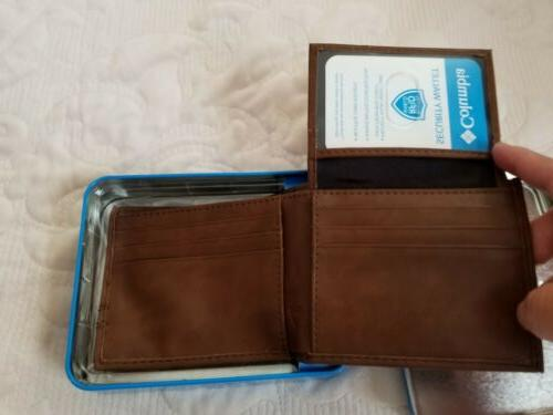 Columbia Men's Leather RFID Wallet