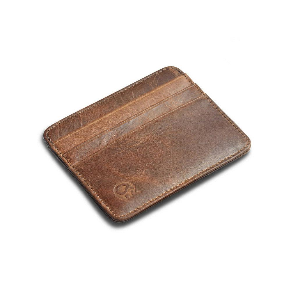 Men's  Minimalist Front Pocket Wallet,Slim&Thin&RFID Credit
