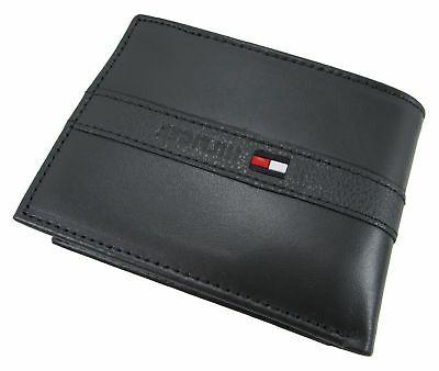 Tommy Men's Leather with Removable Card Holder