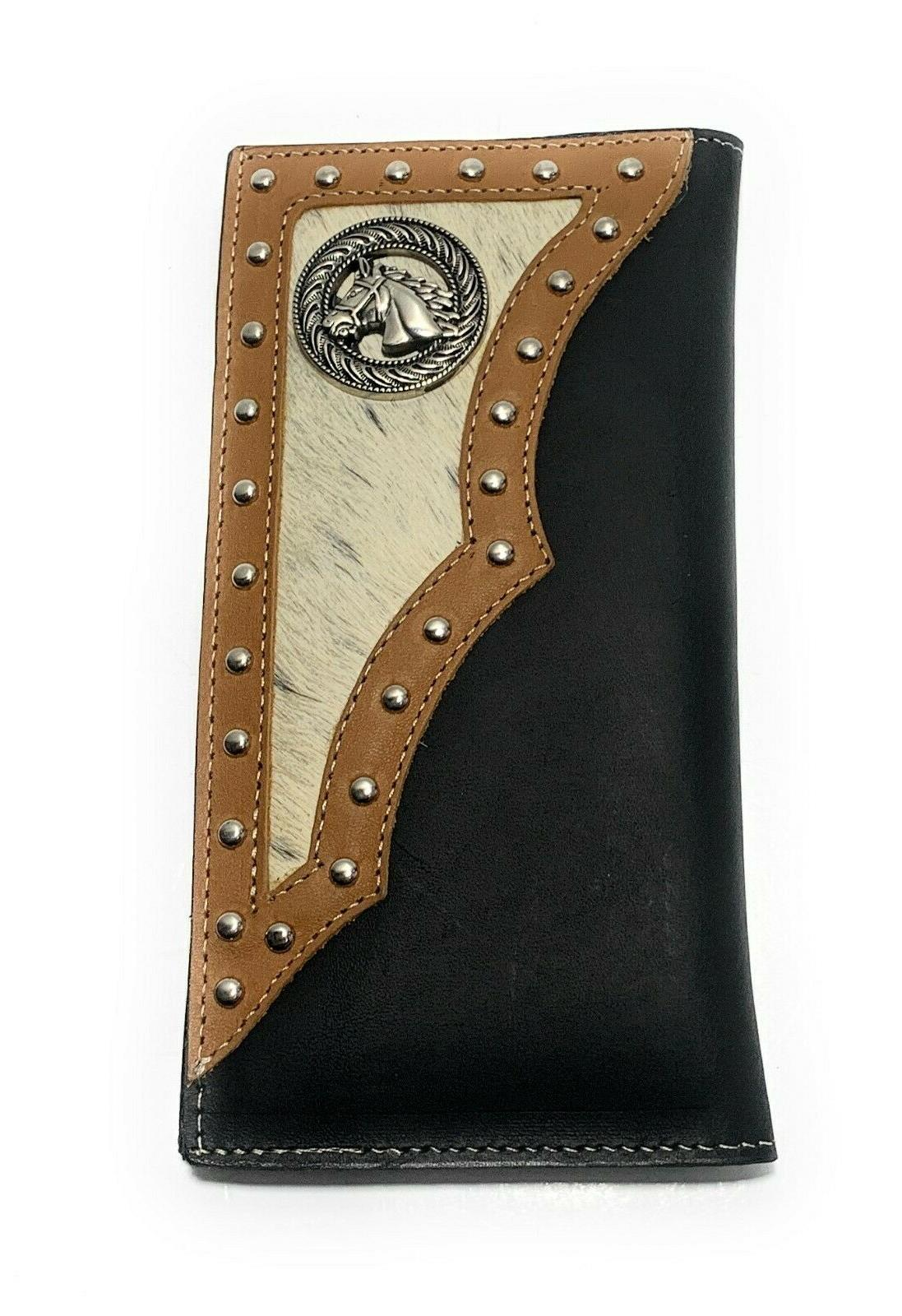 MEN'S GENUINE LEATHER FOLD TALL