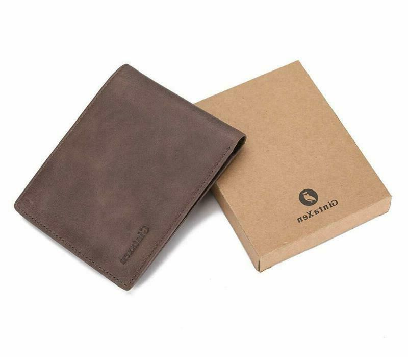 Mens Wallet with Window