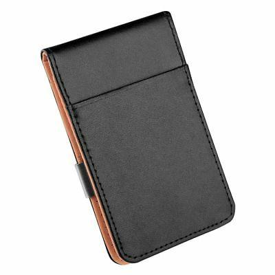 Mens Genuine Money Clip Slim Black Holder
