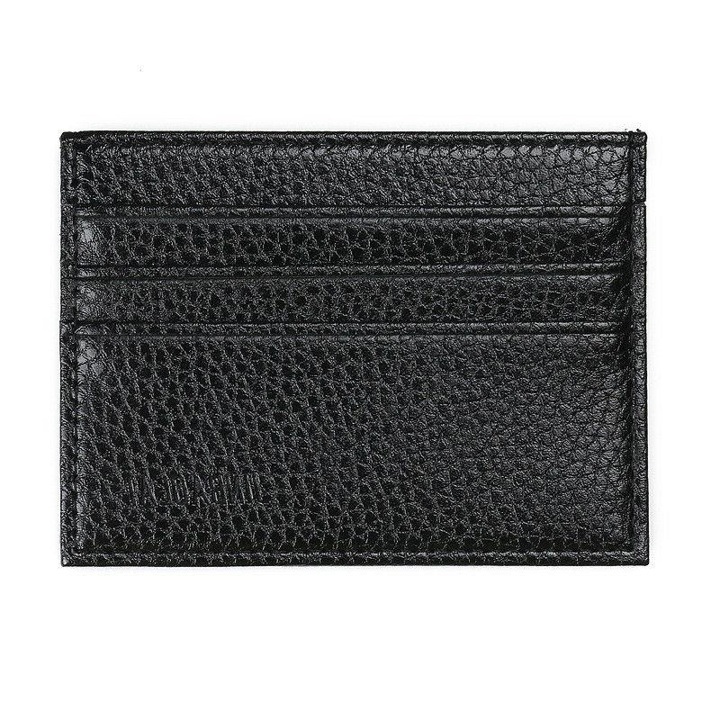 Mens Leather Wallet Card Front Pocket Wallets ID Thin