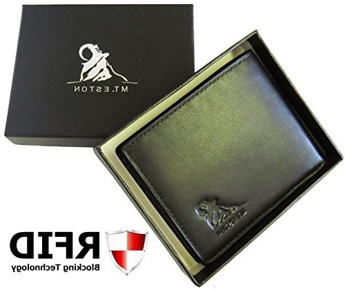 Mt. Trifold Wallet, 18 Pocket Extra