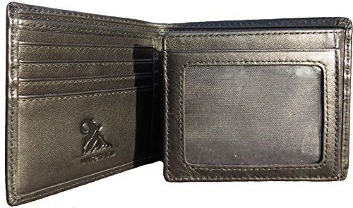 Mt. Trifold Bifold Wallet, 18 Extra
