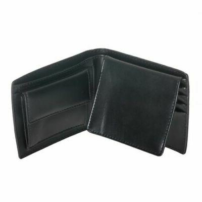 New Calvin Men's Leather Wallet Id