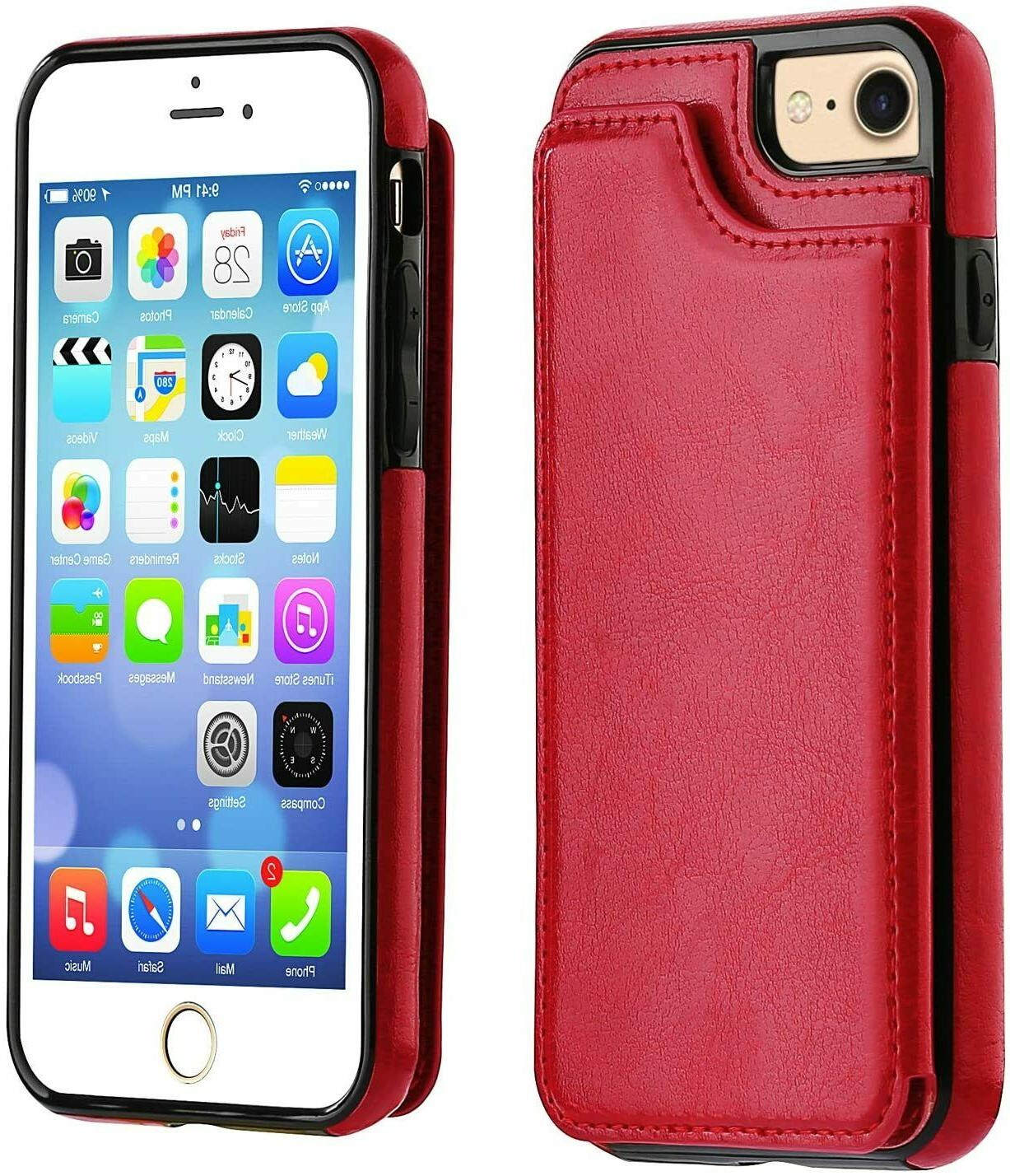 iPhone / 8 Case Card Wallet Cover