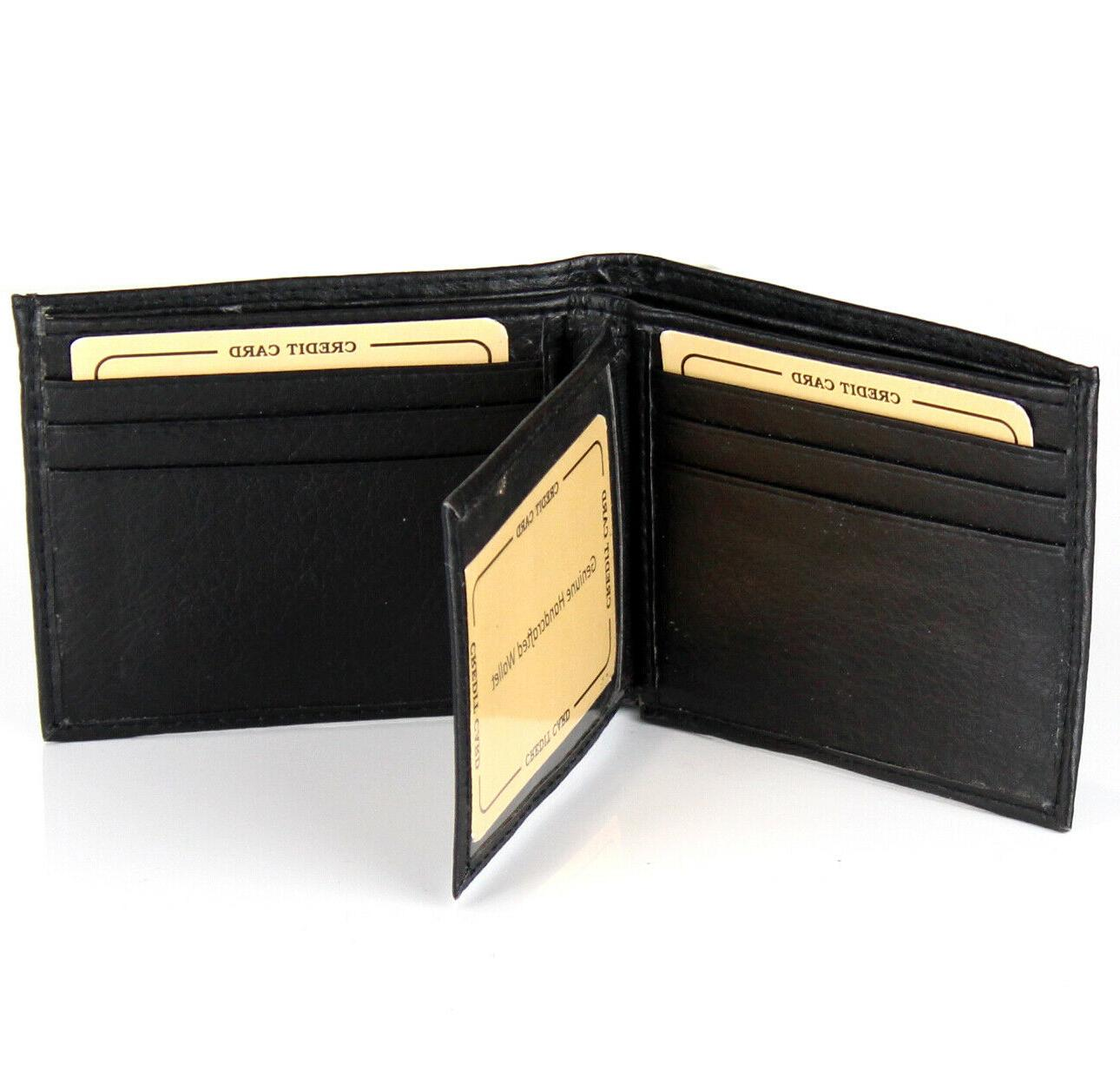New Leather Black Cards Id Soft
