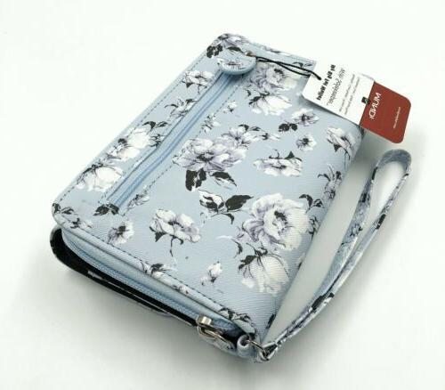 New My Pattern Around Clutch Wristlet Organizer