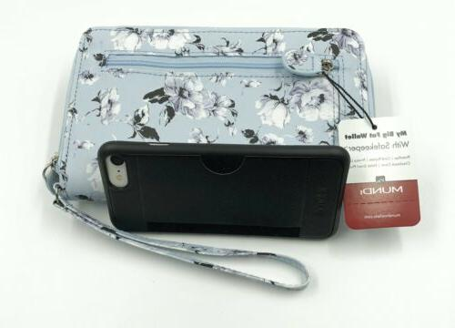 New Mundi My Big Fat Pattern Wristlet Organizer