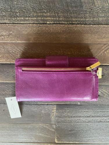 New with Logan Tab Wallet in Purple