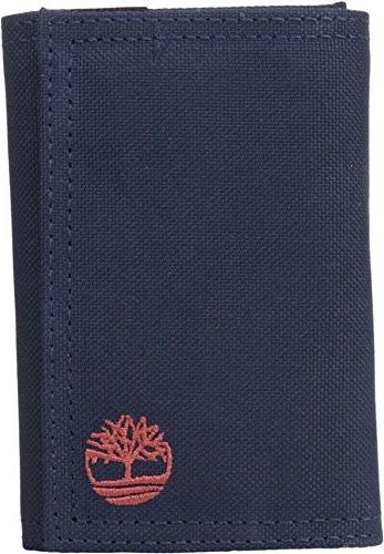 NWT Men's Timberland Nylon Trifold Wallet - Brand New In Box