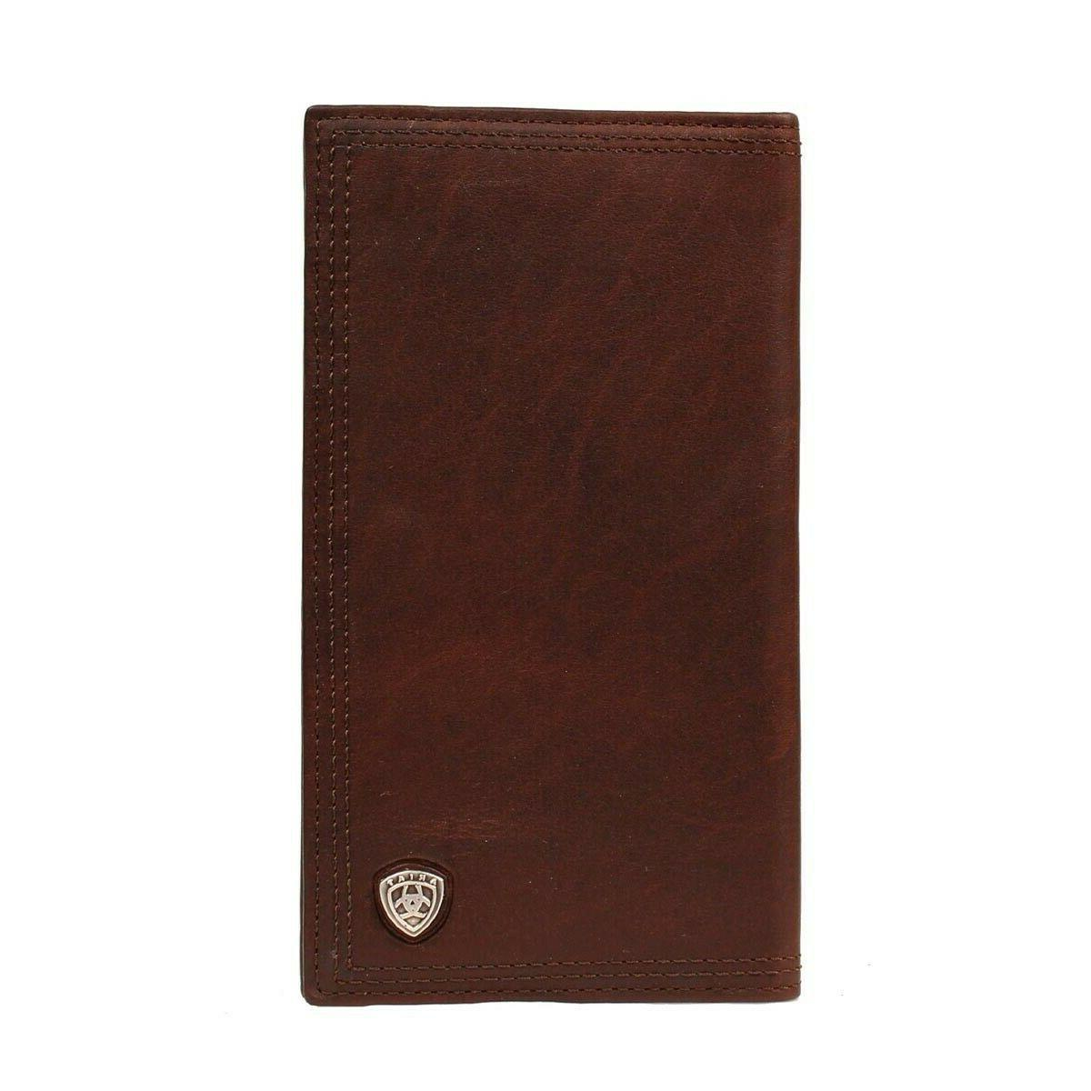 Ariat Performance Work Leather Checkbook/Rodeo Wallet