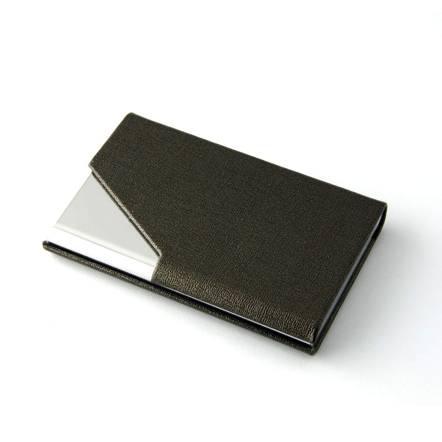 PU Leather Business Holder Wallet New US