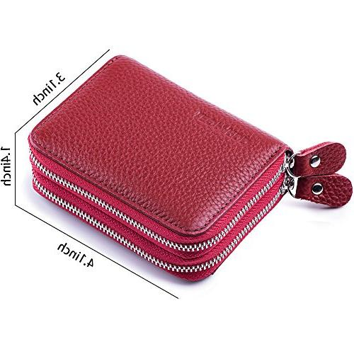 RFID Blocking Leather for Leather Card