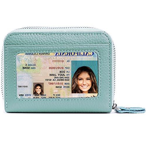 rfid blocking leather wallet for women excellent