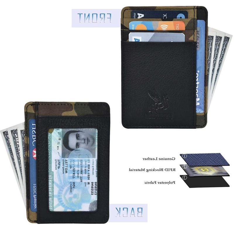Slim Thin Credit Holder w