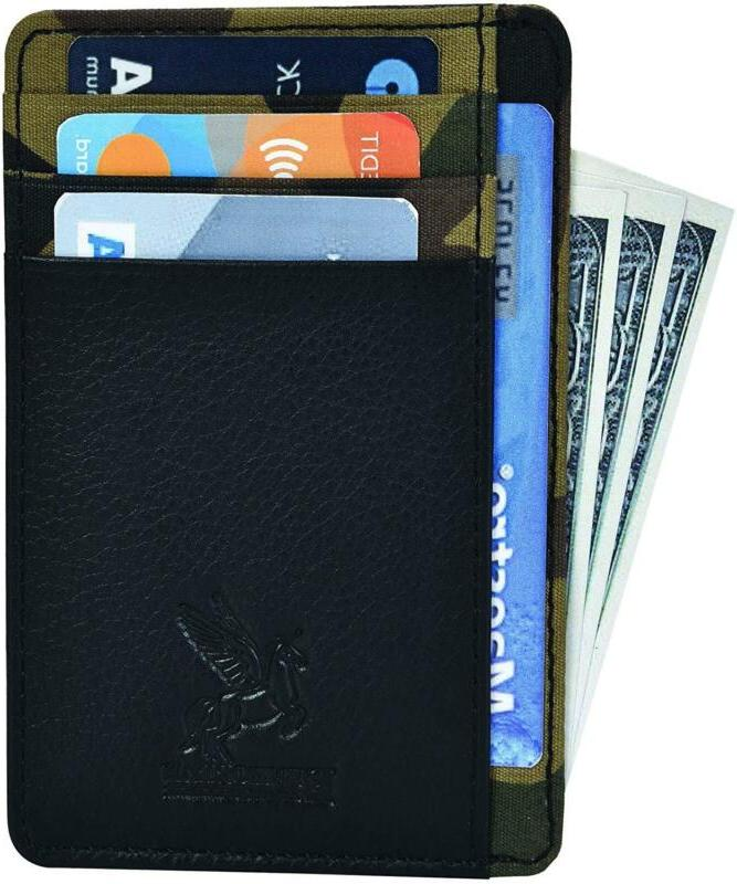 Slim Wallet Pocket Wallet Secure Thin w