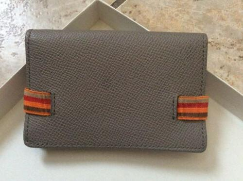 Tod's Leather Card W/ Band