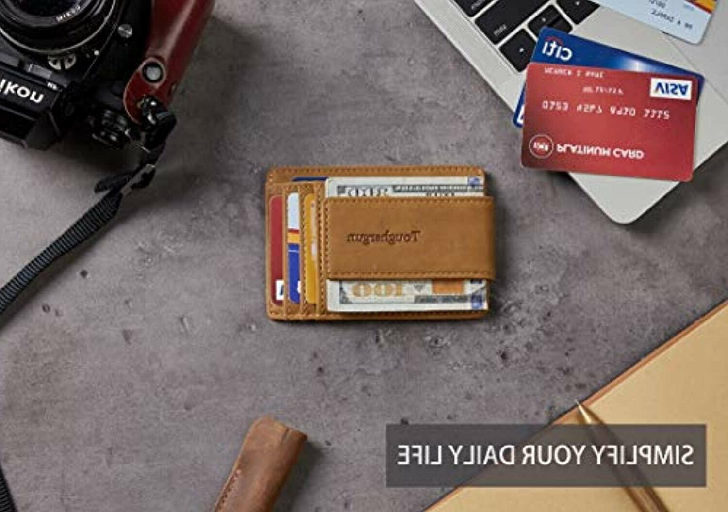 Front Wallet RFID
