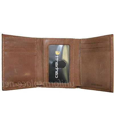 Carhartt Wallets Leather Brown, Black