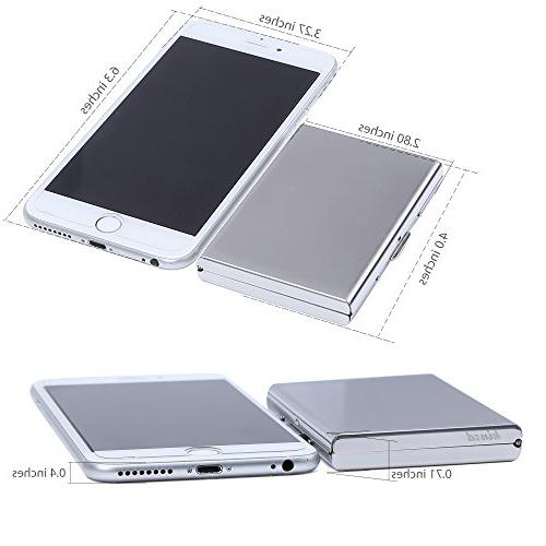 Kinzd Metal Wallet RFID Credit