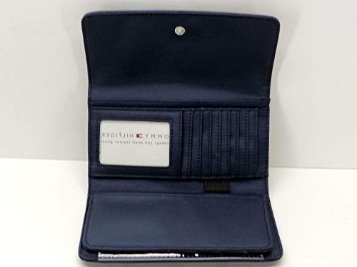 Tommy USA Wallet Clutch Blue Red Logo