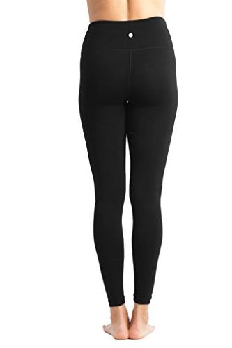 90 Degree - High Waist Flex Legging Control - Black Large
