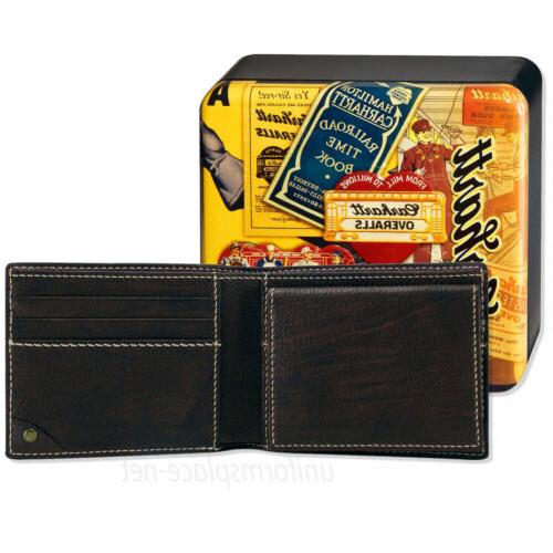 Carhartt Passcase Genuine Leather Billfold