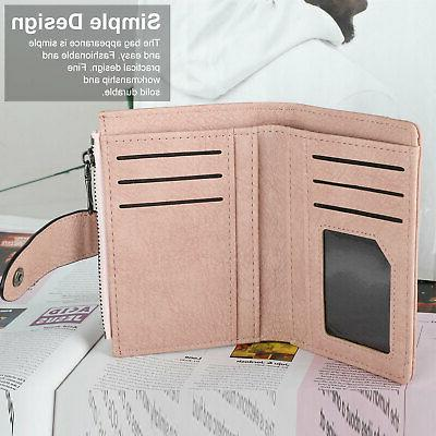 Leather for Women Ladies Credit Bifold