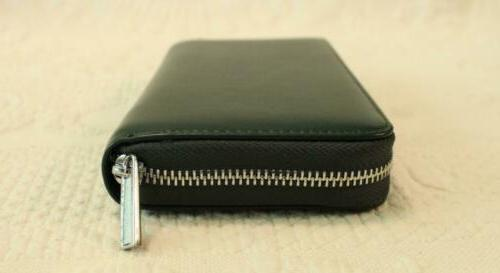 Buvelife Credit Card Wallet SC4 Forest Green NWT