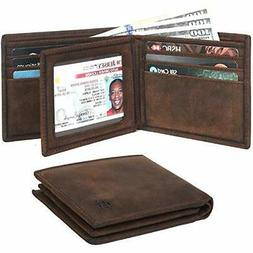 Clifton - Heritage Leather Bifold Wallets for Men - RFID Com