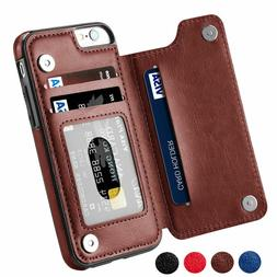 Leather Wallet Case Card Slot Flip Cover For Apple iPhone 11