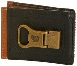Carhartt Men's Long Neck Wallet With Bottle Opener Money Cli