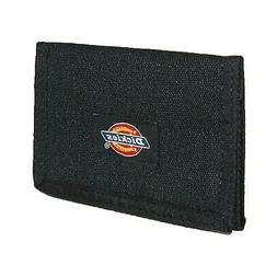 New Dickies Men's Nylon Trifold Wallet with Fabric Hook and