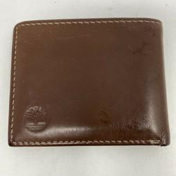 Timberland Men's Blix Slimfold Leather Wallet brown