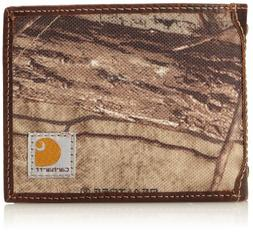 Carhartt Men's Camo Canvas Passcase Wallet, Camo/Green/Brown