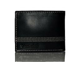 Timberland Men's Cloudy Quad Leather Wallet