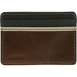 Fossil Men's Elgin Card Case Leather Wallet