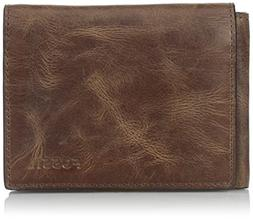 Fossil Men's Execufold Wallet, Derrick-Brown, One Size