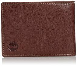 Timberland Men's Genuine Leather RFID Blocking Passcase Secu