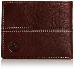 Timberland Men's Genuine Leather Sportz Quad Bifold Wallet