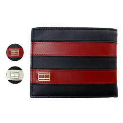 Tommy Hilfiger Men's Leather Credit Card ID Wallet Passcase