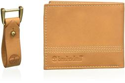 Timberland Men's Leather Slimfold Wallet with Matching Fob G