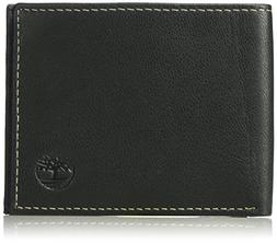 Timberland Men's Leather Wallet and Carabiner Gift Set