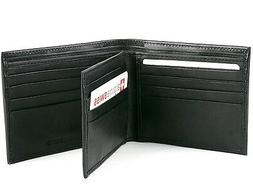 Alpine Swiss Men's Leather Wallet Multi Card High Capacity C