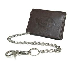 Dickies Men's  Leather Wallet - Security Trifold Truckers ID
