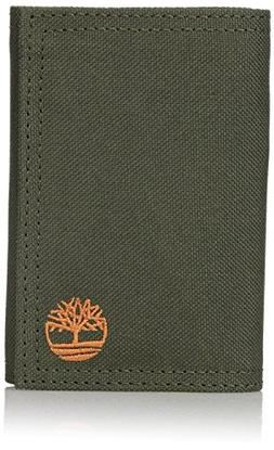 Timberland Men's Nylon Trifold Olive One Size