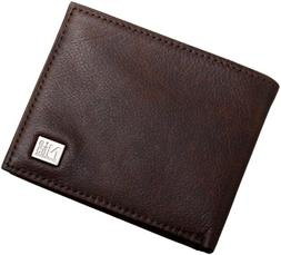 Nautica Men's Passcase with Removable Card Holder,Brown,One