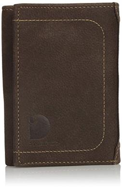 Carhartt Men's Pebble RFID Blocking Trifold, Brown, One Size
